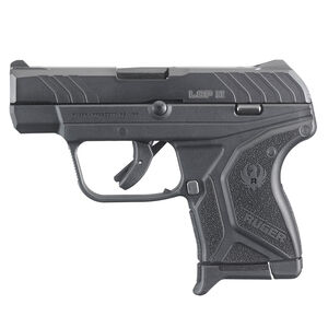 "Ruger LCP II .380 ACP Semi Auto Pistol 2.75"" Barrel 6 Rounds Matte Black Finish"
