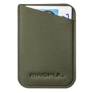 "Magpul DAKA Micro Wallet 3.75"" x 2.67"" Polymer Textile OD Green"