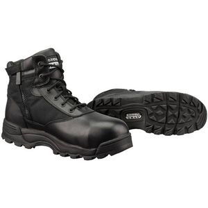 """Original S.W.A.T. Classic 6"""" WP SZ Safety Men's Boot Size 11 Regular Composite Safety Toe ASTM Tested Non-Marking Sole Leather/Nylon Black 116101-11"""