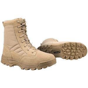 "Original S.W.A.T. Classic 9"" Men's Boot Size 11 Regular Non-Marking Sole Leather/Nylon Tan 115002-11"