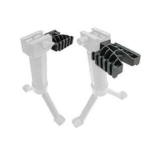 Grip Pod Light Rail Ambidextrous Side Rail Mount Picatinny Polymer Black
