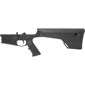 New Frontier C-10 AR-308 Complete Lower Receiver Assembly .308 Win/7.62 NATO Multi-Caliber Marked Billet Aluminum Standard LPK Magpul MOE Fixed Stock Black