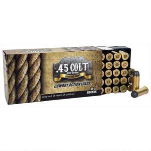 American Cowboy .45 Colt Ammunition 50 Rounds LFN 200 Grain
