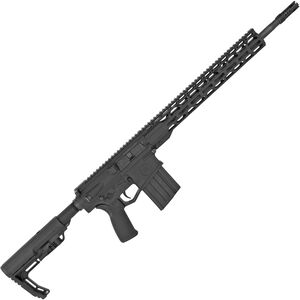 "Radical Firearms .308 Win AR-308 Semi Auto Rifle 18"" Barrel 20 Rounds 15"" Free Float M-LOK TMS Handguard MFT Minimalist Collapsible Stock Black"