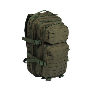 Mil-Tec Small Laser-Cut Assault Pack OD Green 14002601