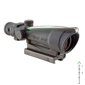 Trijicon ACOG 3.5x35 Scope Dual Illuminated Green Chevron M193 5.56 Ballistic Reticle with TA51 Mount Matte Black