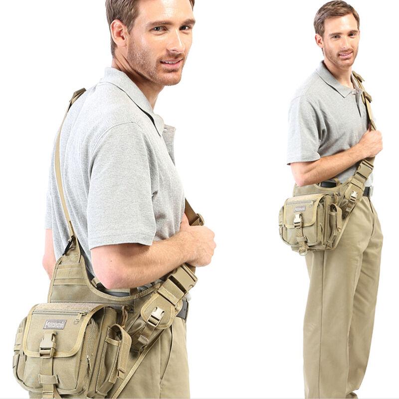 "Maxpedition Fatboy Versipack Bag 8""x6.5""x3"" Nylon Khaki"