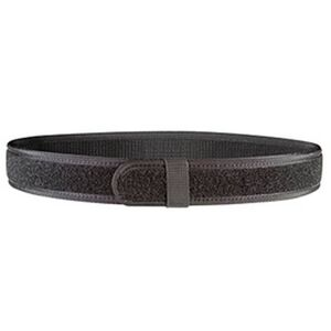 """Bianchi 8106 Loop Type Duty Belt Liner 34-40"""" Waist 1.5"""" Wide Hook and Loop Closure Nylon Black 31340"""