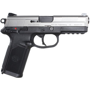 "FN FNX-45 Semi Auto Handgun .45 ACP 4"" Barrel 15 Rounds Black with Stainless Slide"