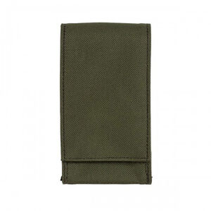 """Voodoo Tactical MOLLE Cell Phone Pouch Size Small 1"""" x 3"""" x 5"""" OD Green"""
