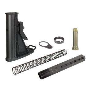 Leapers UTG PRO AR-15 Collapsible Stock Kit 6 Position Commercial Black RBU6BC