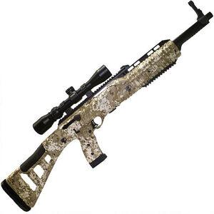 "Hi-Point Hunter Carbine Semi Auto Rifle 9mm Luger 16.5"" Barrel 10 Rounds with 1.5-5x32mm Scope Desert Digital Camo Polymer Stock Black Finish"