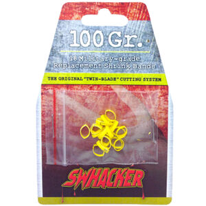 Swhacker Products Set of 18, 100 Grain 2 Blade Broadhead Replacement Bands Shrink Tubing SNJ-580-ME6JW