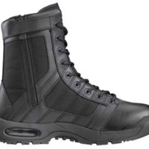 "Original S.W.A.T. Metro Air 9"" Side Zip Men's Boot Size 10.5 Regular Non-Marking Sole Leather/Nylon Black 123201-105"