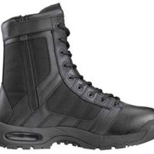"Original S.W.A.T. Metro Air 9"" Side Zip Men's Boot Size 9.5 Regular Non-Marking Sole Leather/Nylon Black 123201-9"