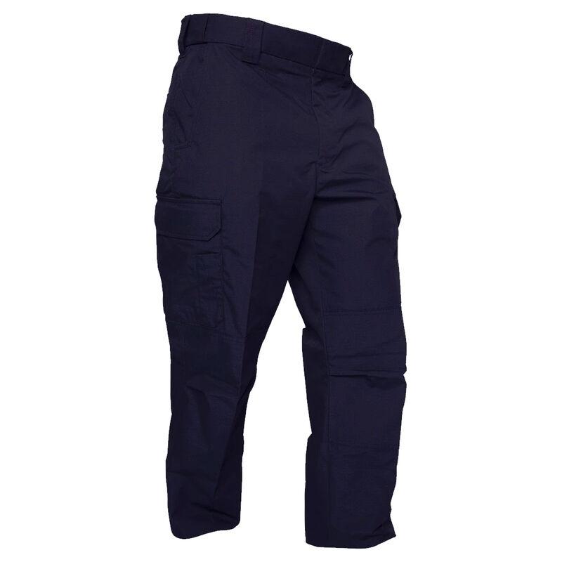 Elbeco ADU Ripstop Men's Pants Size 42 Unhemmed Polyester Cotton Ripstop Midnight Navy