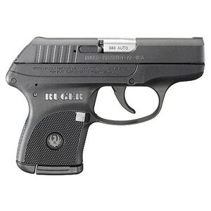 "Ruger LCP .380 ACP Semi Auto Pistol 2.75"" Barrel 6 Rounds Polymer Frame Matte Black"