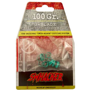 Swhacker Products Set of 18, 3 Blade Broadhead Replacement Bands Shrink Tubing SNJ-580-DHZFJ