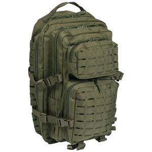 Mil-Tec Large Laser-Cut Assault Pack OD Green 14002701