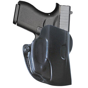 Viridian DeSantis Mini Scabbard Holster for GLOCK 42 with Viridian Reactor Instant-On Green Laser Right Hand Black R5G42DMS