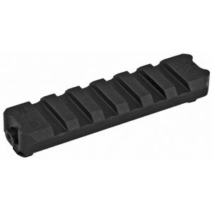 Seekins Precision RVL-R6 6 Slot Picatinny Rail Aluminum Black