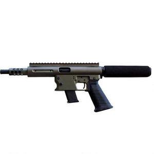 "TNW Aero Survival Semi Auto Pistol 9mm 8"" Barrel 33 Rounds Aluminum OD Green"