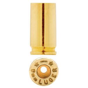 Starline 9mm Luger Unprimed Brass Cases 100 Count 9EUP-100