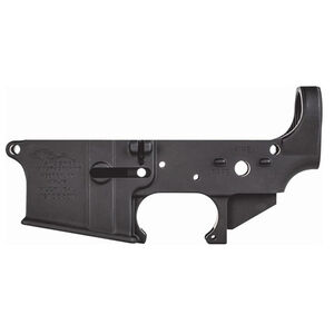Anderson Manufacturing Elite Premium AM15 AR-15 Stripped Lower Receiver Multi-Caliber Compatible Mil-Spec Forged 7075-T6 Aluminum Matte Black