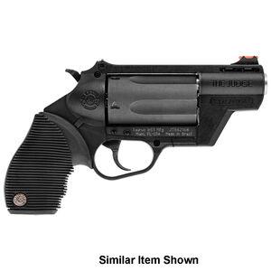 "Taurus Judge Public Defender Polymer .45 Long Colt/.410 Bore DA Revolver 2.5"" Barrel 2.5"" Chamber 5 Rounds Fiber Optic Front Sight Taurus Ribber Grip Gray"