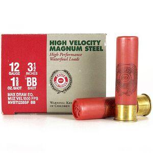 "Estate Cartridge 12 Ga 3.5"" BB Steel 1.375oz 250 Rounds"