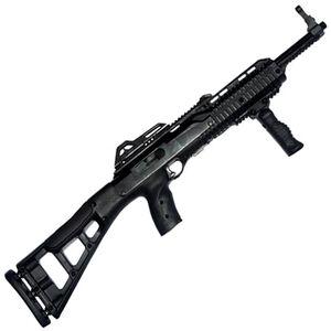 "Hi-Point Carbine Semi Auto Rifle .380 ACP 16.5"" Barrel 10 Rounds Polymer Target Stock Black Finish with Forward Grip 389TSFG"