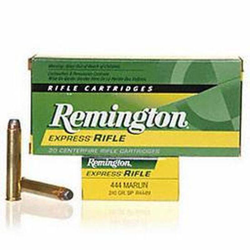 Remington Express .444 Marlin Ammunition 20 Rounds 240 Grain Core-Lokt Soft Point Projectile 2350fps