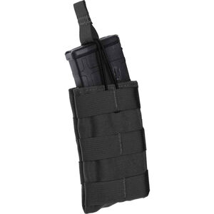 Tac Shield AR-15/M4/M-16 Single Magazine MOLLE Pouch Nylon Black T3506BK