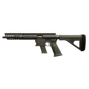 "TNW Aero Survival Pistol .40 S&W Semi Auto Pistol 10.25"" Barrel 22 Rounds GLOCK Style Magazine Extended Hand Guard SB Tactical Pistol Brace Matte Black"