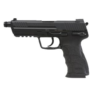 "H&K HK45 Tactical V7 Semi Auto Pistol .45 ACP 5.2"" Threaded Barrel 10 Rounds Polymer Frame Black 745007T-A5"