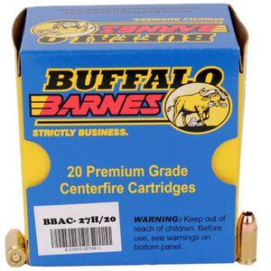 Buffalo Bore .380 Auto +P Ammunition 20 Rounds Barnes TAC-XP HP 80 Grains 27H/20