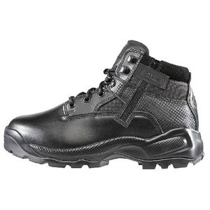 5.11 Tactical Women's A.T.A.C. 6 Inch Boot With Side Zip Leather Nylon Size 7 Black 12025