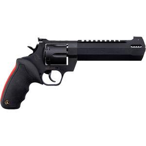 "Taurus Raging Hunter .357 Mag DA/SA Revolver 6.75 "" Ported Barrel 7 Rounds Adjustable Rear Sight Picatinny Top Rail Rubber Grip Matte Black"