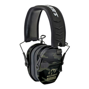 Walker's Game Ear Razor Electronic Slim Folding Earmuffs Multicam Grey