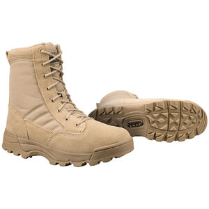 "Original S.W.A.T. Classic 9"" Men's Boot Size 10 Regular Non-Marking Sole Leather/Nylon Tan 115002-10"