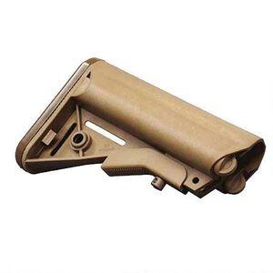 B5 Systems Enhanced SOPMOD AR-15 Stock, Mil-Spec, Coyote Tan