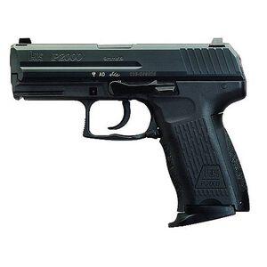 "H&K P2000 V2 LEM Semi Auto Handgun 9mm 3.66"" Barrel 10 Rounds Polymer Frame Black Finish 709202-A5"