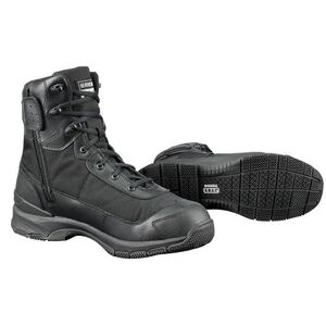 "Original S.W.A.T. H.A.W.K. 9"" Side Zip Tactical Boot Waterproof Men's 13 Wide Black 165431W-13"