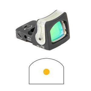 Trijicon Ruggedized Miniature Reflex Red Dot Matte Dual Illumination 13 MOA Amber Dot RM03