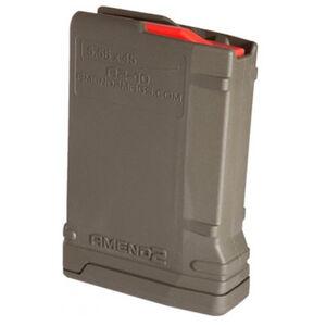 Amend2 Mod-2 AR-15 10 Round Magazine .223 Remington/5.56 NATO Anti-tilt Super Follower Stainless Steel Spring Polymer Olive Drab Green