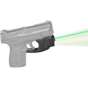 LaserMax Centerfire Light/Laser Sight System Green Laser/100 Lumen Mint Green Light S&W Shield .45 ACP 1/3N Battery Polymer Housing Matte Black