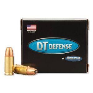 DoubleTap 9mm +P Ammunition 20 Rounds 165 Grain Equalizer JHP 995fps