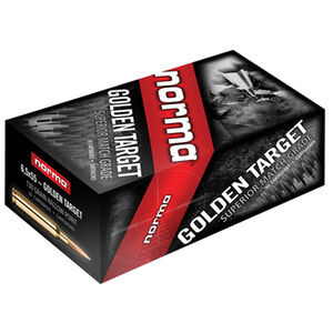 Norma Golden Target 6.5 Creedmoor Ammunition 20 Round 130 Grain HPBT 2850 fps