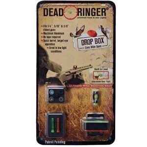 Dead Ringer Drop Box Shotgun Sight For Ribbed Barrels Mossy Oak Duck Blind Camo Finish DR4478