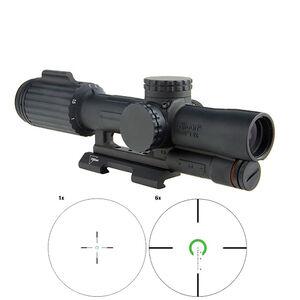 Trijicon VCOG 1-6x24 Riflescope Illuminated Green Horseshoe Dot/Crosshair .223 Remington 55 Grain Ballistic Reticle First Focal Plane Quick Release Mount Black